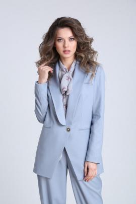 Жакет SandyNa 13829  небесно-голубой