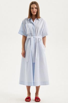 Платье Moveri by Larisa Balunova 5135D голубой