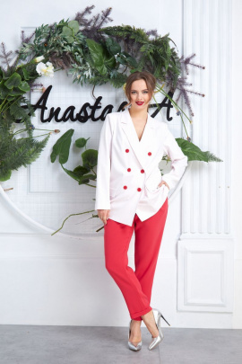 Женский костюм Anastasia 575 молочно-розовый