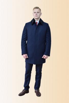 Пальто DOMINION 1875D 8C128-P49 176 темно-синий