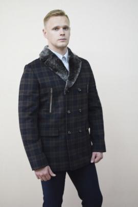 Пальто DOMINION 1878D 8C124-P49 182 темно-синий