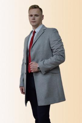 Пальто DOMINION 1879D 8C145-P49 170 серый