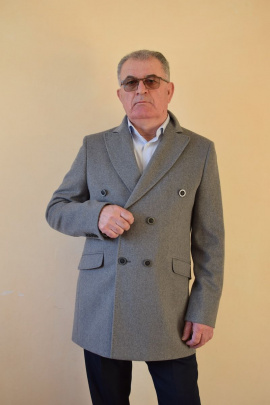 Пальто DOMINION 1910D 9C138-P49 188 серый