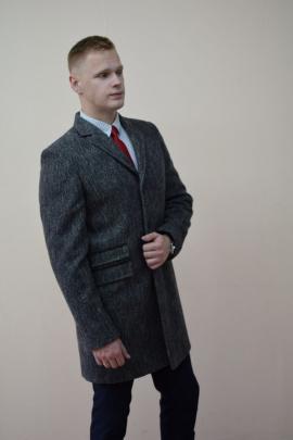 Пальто DOMINION 1924D 9C140-P49 176 серый
