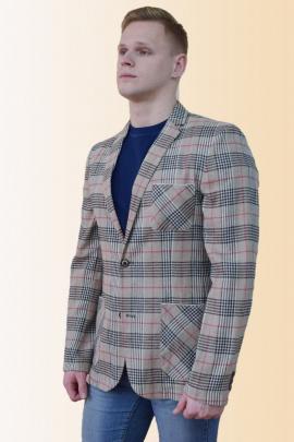 Пиджак DOMINION 4390D 6C20-P49 176 светло-серый