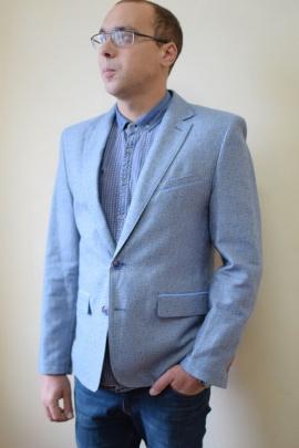 Пиджак DOMINION 4457D 9C63-P49 188 голубой