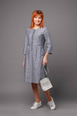 Платье Соджи 480 серый
