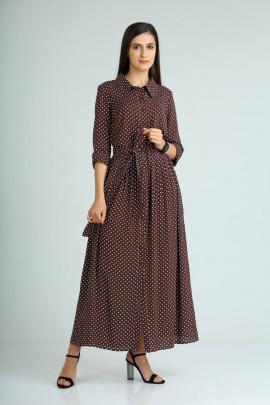 Платье Celentano 1938 шоколадный