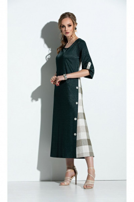 Платье Diva 1310 зеленый
