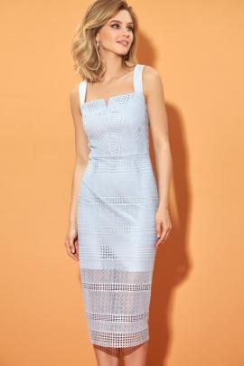 Платье DiLiaFashion 0493 серый