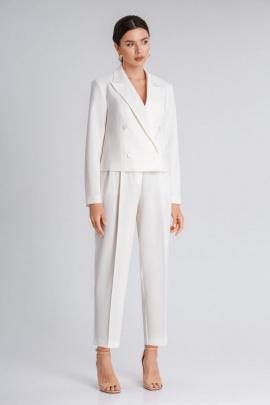 Женский костюм IVARI 203+306 молочный