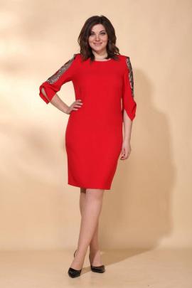 Платье Vilena 616 красный