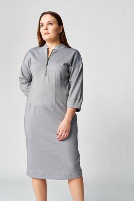 Платье Almirastyle 107 серый
