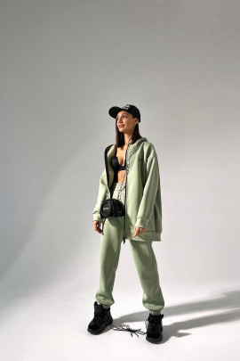 Худи Rawwwr clothing 221 оливковый