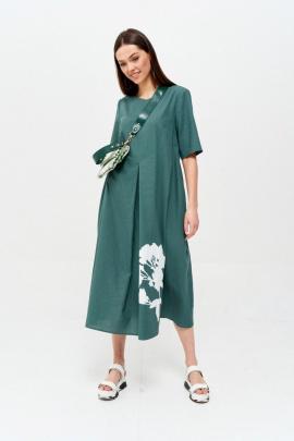 Платье Lyushe 2626 изумруд