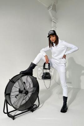 Брюки Rawwwr clothing 001-начес белый