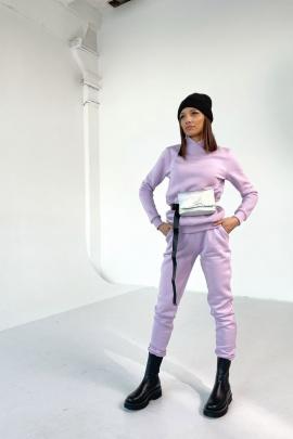 Брюки Rawwwr clothing 001-начес лиловый