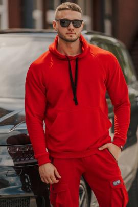 Худи Rawwwr clothing 028-начес красный