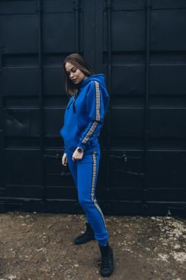 Брюки Rawwwr clothing 043-начес синий