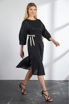 Платье Vladini DR1129 черный