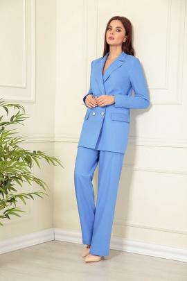 Женский костюм Andrea Fashion AF-137/11 василек
