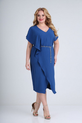 Платье Diamant 1658 синий