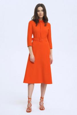 Платье LaVeLa L10219 оранжевый