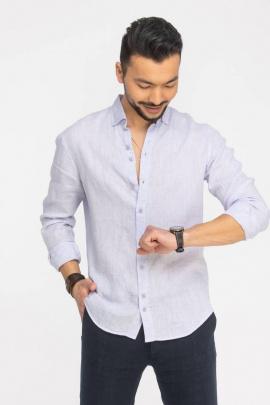 Рубашка Cool Flax КФР002 сиреневый