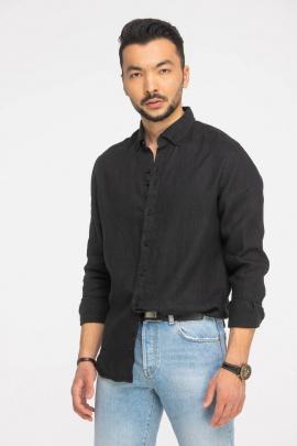 Рубашка Cool Flax КФР002 черный