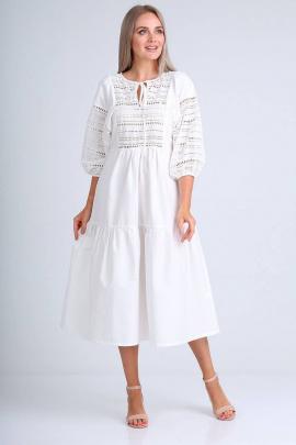 Платье FloVia 4072 белый