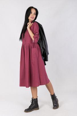 Платье Daloria 1404 бордо