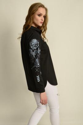 Рубашка MAX 1-015 черный