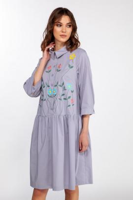 Платье ELLETTO LIFE 1828 лавандовый