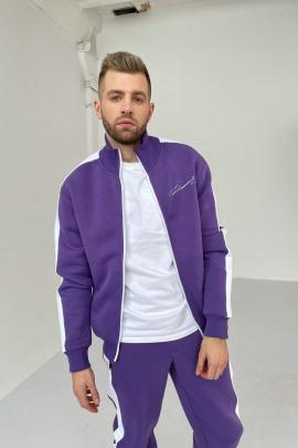 Олимпийка Rawwwr clothing 122-начес фиолетовый