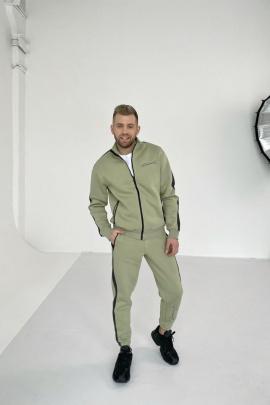 Брюки Rawwwr clothing 123-начес олива