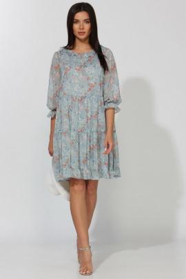 Платье Faufilure С1093 голубой