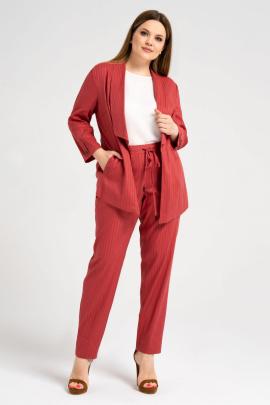 Женский костюм Панда 463220 бордовый