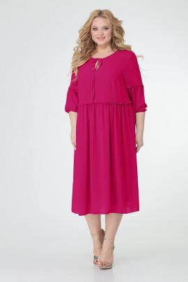 Платье TrikoTex Stil М0121 малина