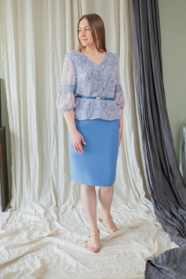 Комплект Karina deLux B-419 голубой
