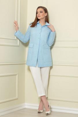 Жакет Andrea Style 0371/2 голубой
