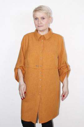 Рубашка MIRSINA FASHION 14470317 горчица