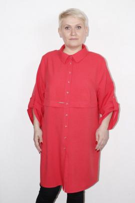 Рубашка MIRSINA FASHION 14470322 коралл