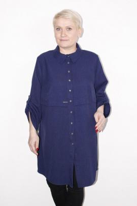 Рубашка MIRSINA FASHION 14470302 синий
