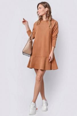 Платье PATRICIA by La Cafe NY15044 рыжий