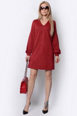 Платье PATRICIA by La Cafe F15013 винный