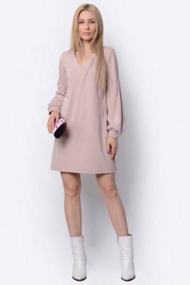 Платье PATRICIA by La Cafe F15013 пудровый