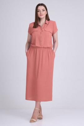 Платье ELGA 01-698/1 коралл