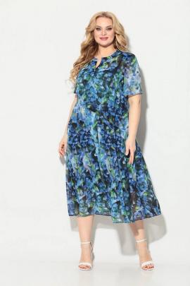 Платье Koketka i K 838-4 василек