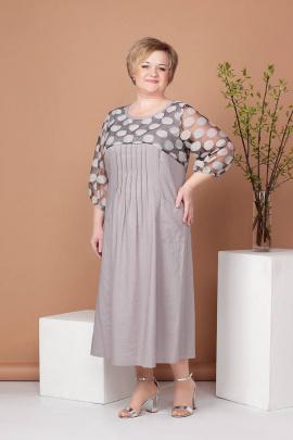 Платье Соджи 486 серый