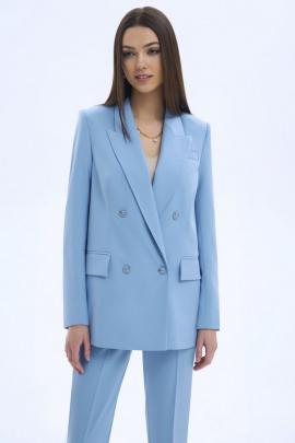 Жакет LaVeLa L30065 светло-голубой